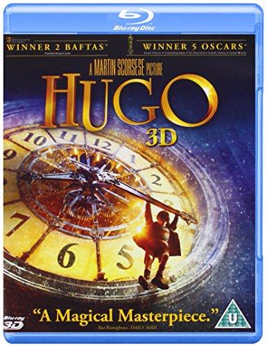 Hugo 3D and 2D Blu-ray £3.51 + £2.99 NP @ Amazon