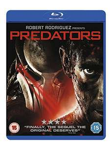 Predators Blu-ray £2.92 + £2.99 NP @ Amazon