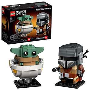 Lego 75317 BrickHeadz Star Wars The Mandalorian & The Child Baby Yoda £13.24 + £4.49 NP UK Mainland Sold by Amazon EU @ Amazon