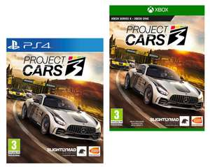 Project 3 Cars (PS4 / Xbox One) - £11.99 delivered @ Simply Games