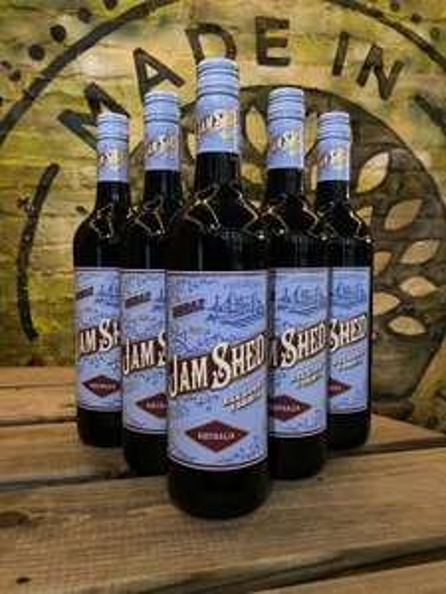 Jam Shed Shiraz Wine, 75 cl (Case of 6) £34.37 @ Amazon