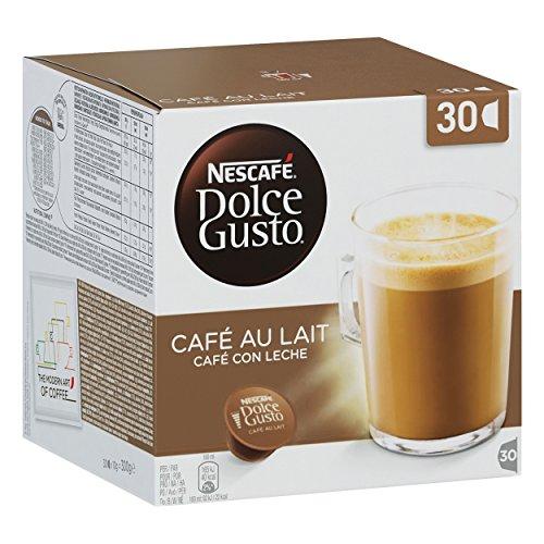 Nescafé Dolce Gusto Cafe Au Lait 90 Pods coffee (1 Pack = 30 Pods) - £16.88 Prime or £15.19 S&S (£4.49 NP) @ Amazon