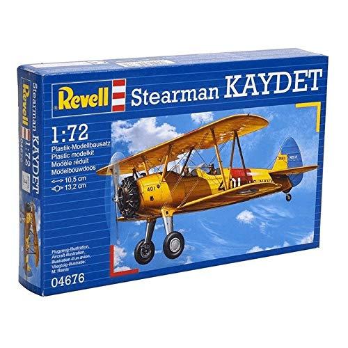 Revell 04676 Stearman Kaydet Model Kit £3.36 Prime + £4.49 Non Prime (UK Mainland) Sold by Amazon EU @ Amazon