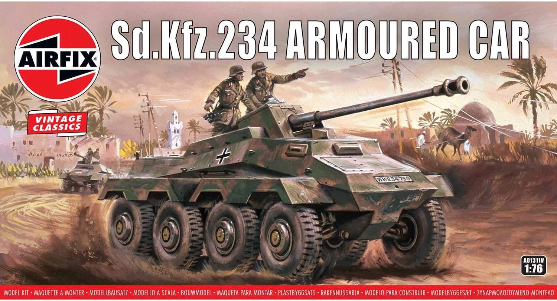 Airfix A01311V SDKFZ Armoured Car - Amazon £3.98 Prime at Amazon (+£4.49 non Prime)