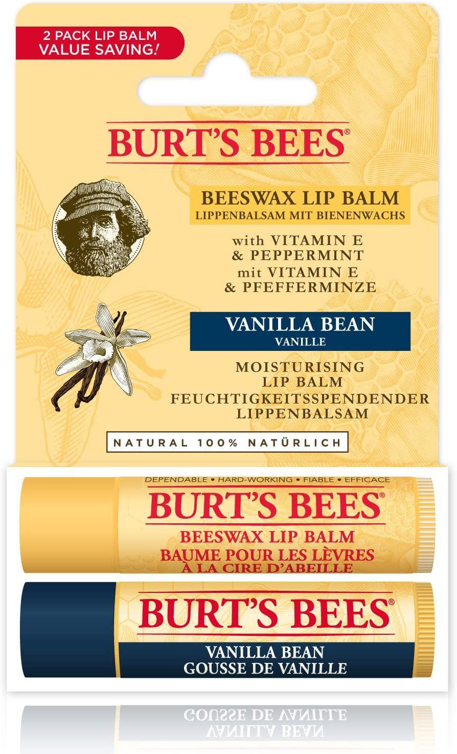 Burt'S Bees Moisturising Lip Balm, Pack of 2 £4.99 @ Amazon (£4.49 p&p np) 25% voucher & 10% s&s £3.24