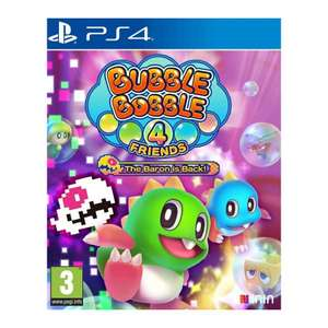 Bubble Bobble 4 Friends PS4 game at The Game Collection for £23.95