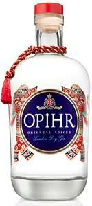 Opihr Spices of the Orient London Dry Gin, With Hand Picked Botanicals, 70 cl 40% ABV £17.50 Amazon Prime / £21.99 Non Prime