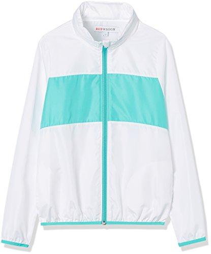 RED WAGON Girl's Jacket White/Turquoise Age 8 - £5.09 / Age 7 £6.78 (+£4.49 non prime) @ Amazon