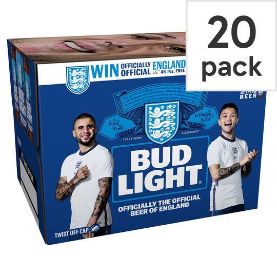 Bud Light 300ml x 20 bottles for £10 at Amazon Prime / £14.49 Non Prime
