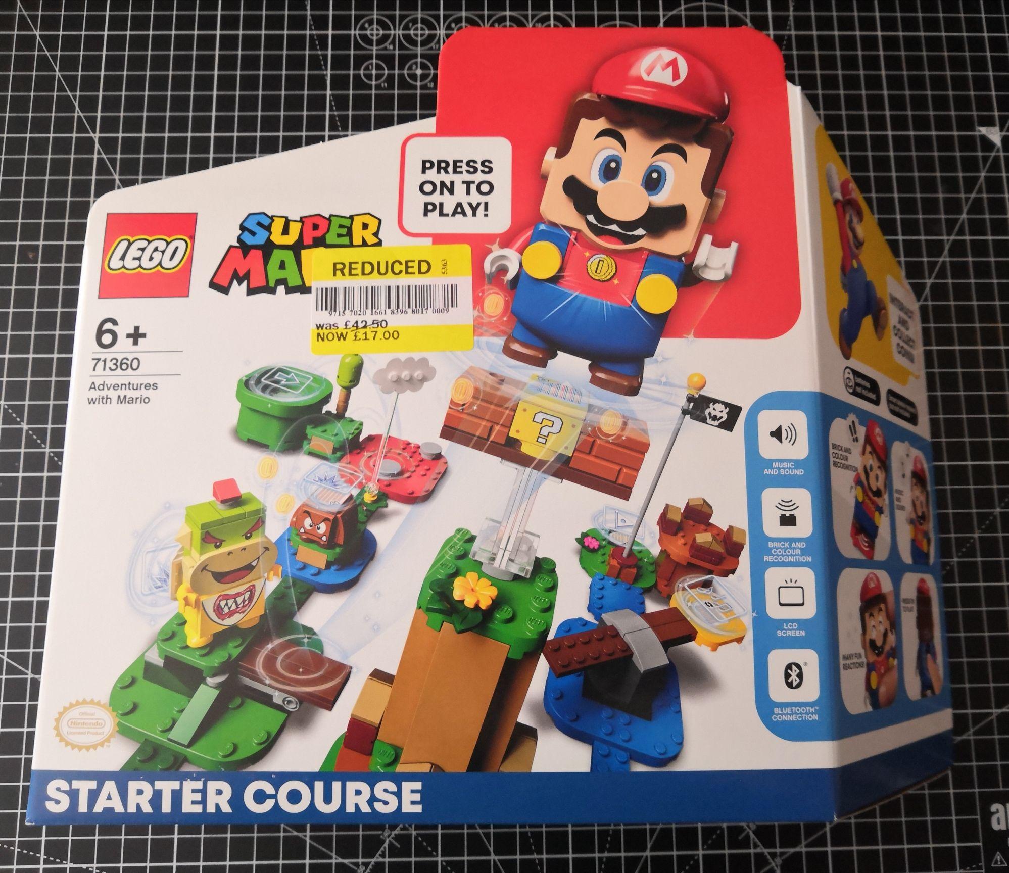 Lego Super Mario Starter Course 71360 - £17 at Tesco Brockworth instore