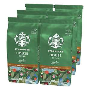 6 Starbucks roast ground coffee £18 Prime / £12.60 on full subscribe and save with voucher at Amazon
