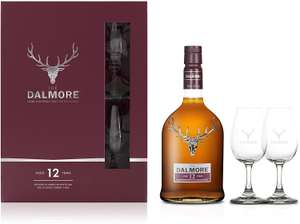 The Dalmore 12 Year Old Single Malt Whisky, 70cl Gift Pack £39.84 @ Amazon