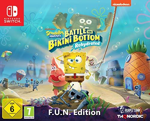 SpongeBob Squarepants: Battle For Bikini Bottom - Rehydrated - F.U.N. Edition for Switch £115.00 @ Amazon