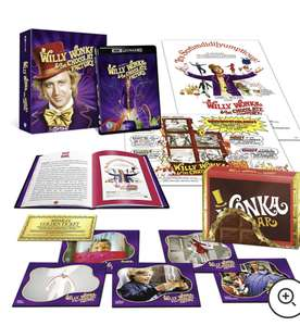 Willy Wonka & The Chocolate Factory Zavvi Exclusive Ultimate Collector's Edition 4K Ultra HD £32 +£1.99 delivery @ Zavvi