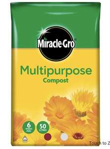 Miracle Gro 50L Compost £4 instore @ Wilko Longton
