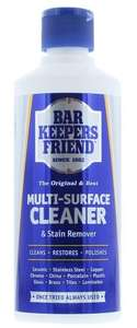 Bar Keepers Friend Multi Surface Household Cleaner & Stain Remover Powder 250g - £1.49 Prime / £5.98 Non Prime @ Amazon