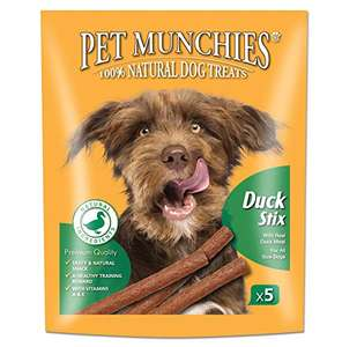 Pet Munchies dog treats Duck Stix 10x50gm (50 sticks) ( £4.91 prime / £9.40 non prime @ Amazon