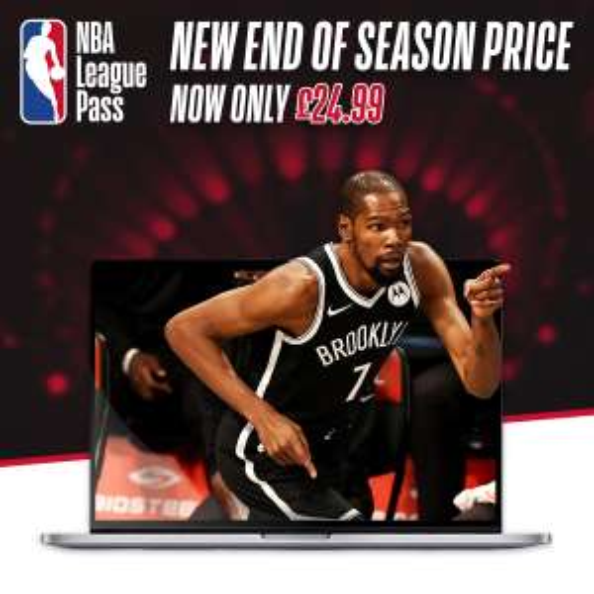NBA League Pass Annual £22.49 @ NBA