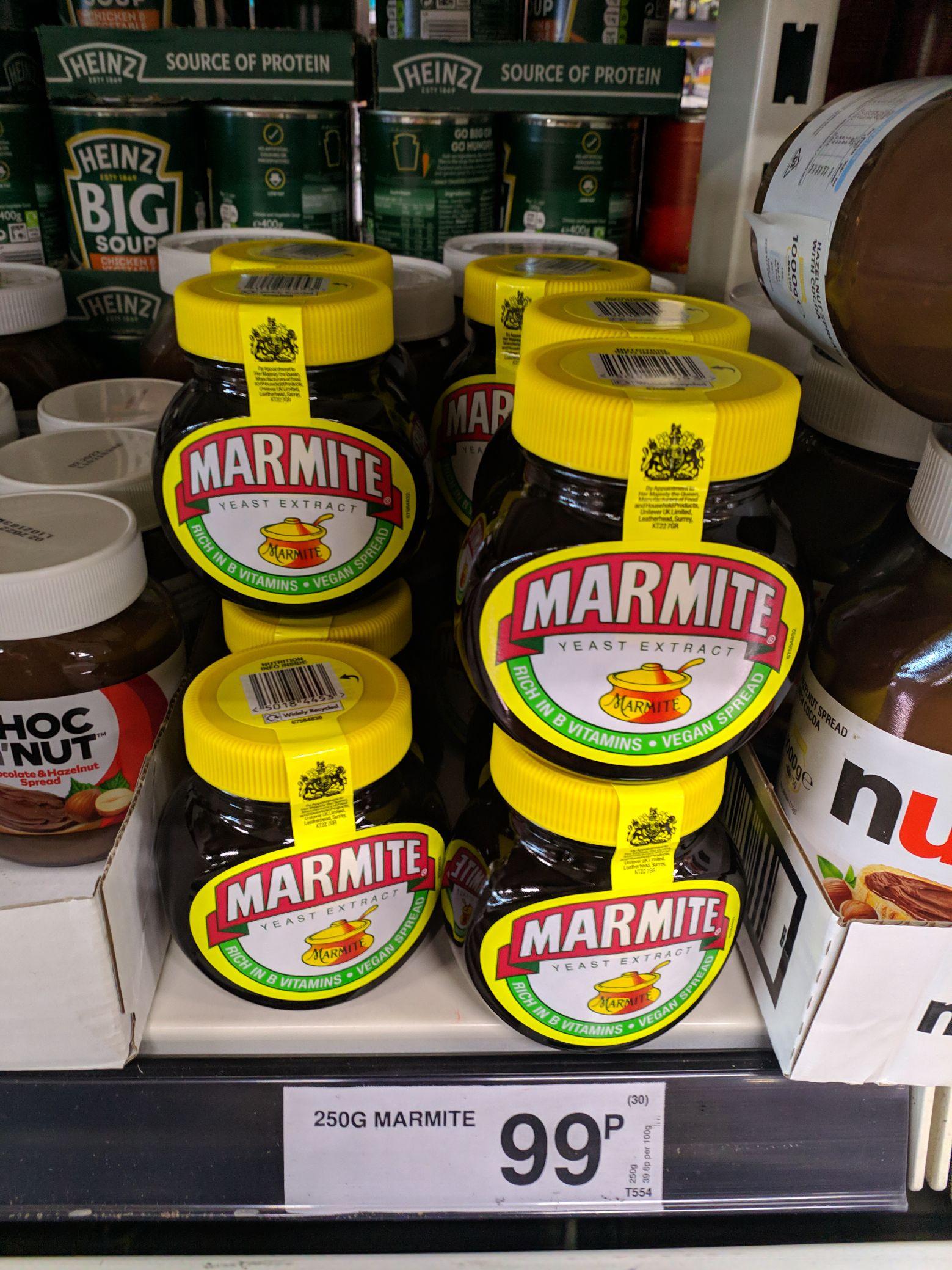 Marmite 250g 99p instore @ Farmfoods Bury
