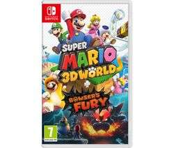 Super Mario 3D World + Bowser's Fury/Pokemon Snap/Mario Kart 8 Deluxe/Monster Hunter Rise/Luigi Mansion 3 £34.99 With Code @ Currys PC World