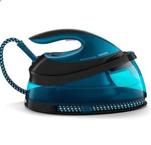 Philips PerfectCare Compact Steam Generator Iron with 420g steam Boost, 2400 W, Blue & Black - GC7846/86 - £149.99 @ Amazon