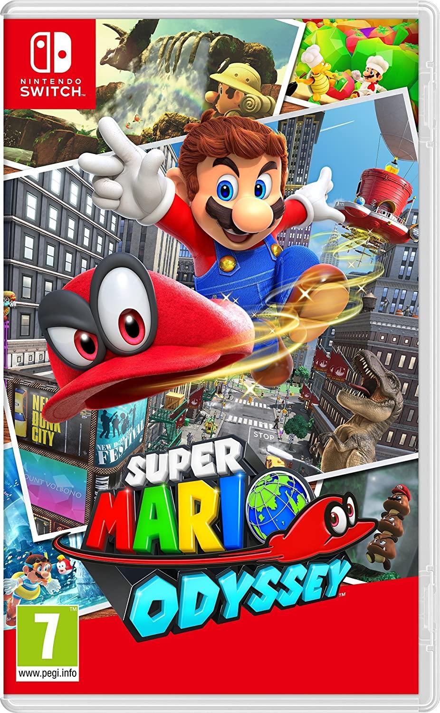 Super Mario Odyssey/Super Mario Bros U Deluxe/Pokemon Sword and Shield/Pokemon Pikachu and Eve/Super Mario Party £34.99 With Code @ Currys
