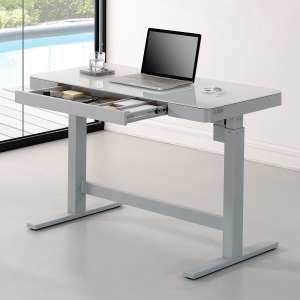 Tresanti Power Adjustable Height White Tech Desk - £275.98 (Members Only) instore @ Costco Warehouse