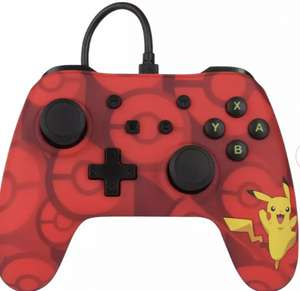 PowerA Nintendo Switch Wired Controller - Pikachu - £10.99 @ Argos Free Click & collect