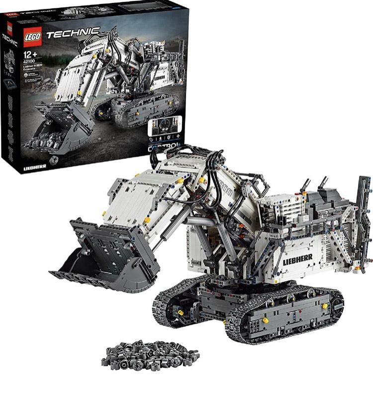 LEGO 42100 Technic Control+ Liebherr R 9800 Excavator - £281.99 @ Amazon
