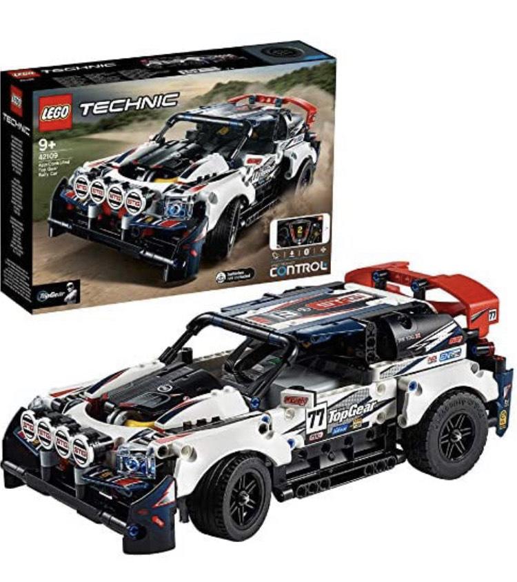 LEGO 42109 Technic CONTROL+ App-Controlled Top Gear Rally Car - £73.44 @ Amazon