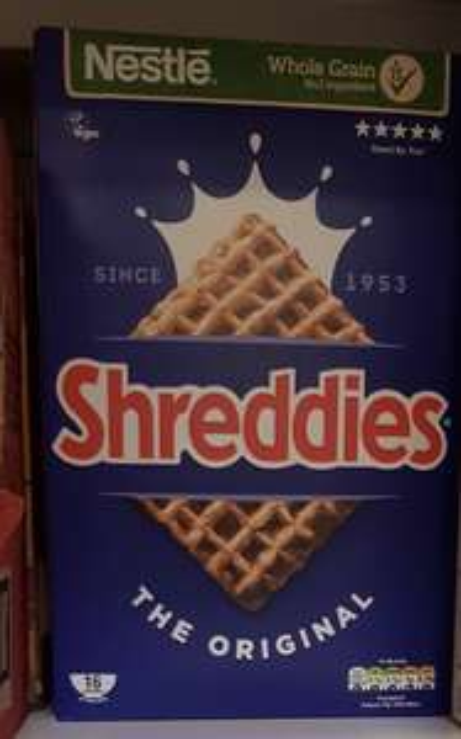 Nestle Shreddies Original Cereal 675G - Sainsburys (Brackley) - 45p