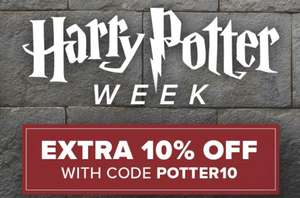 10% Off Harry Potter items including some sale items @ Lost universe - £3 delivery / free over £50