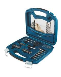 50 Piece Drill and Bit Set With Case - £12.99 Instore from 20/5/21 @ Aldi