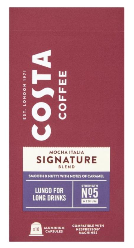 Costa Nespresso capsules £2 @ Morrisons
