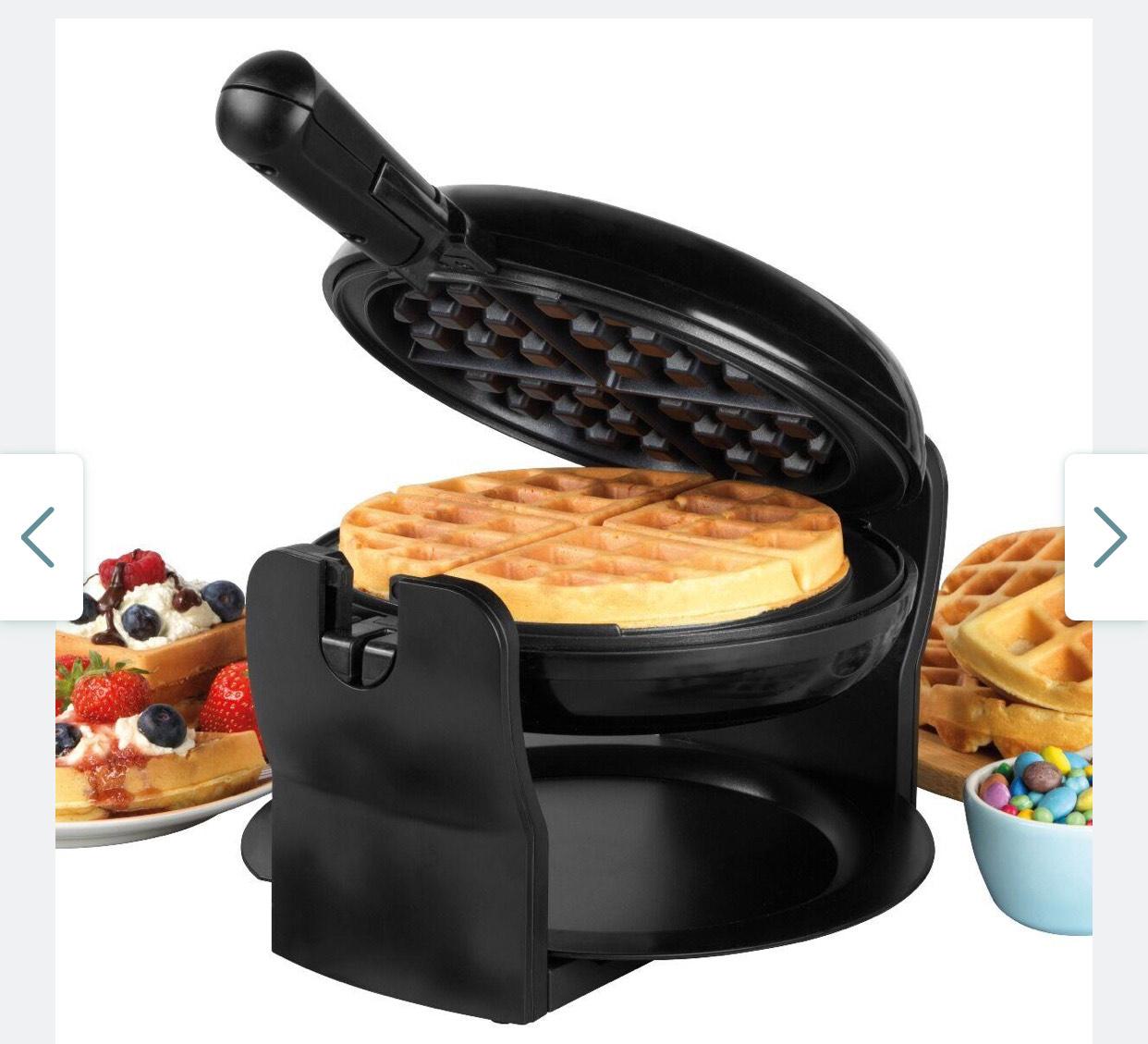 Progress EK4376P 1000W Rotary Non- Stick Waffle Maker - Black £39.99 delivered @ Robert Dyas