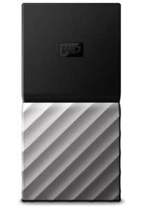 WD My Passport External SSD - 256GB Black & Silver - £39.97 delivered @ Currys PC World