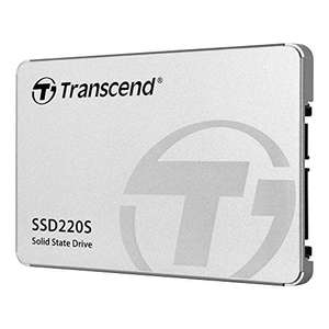 "480GB - Transcend SATA III 6Gb/s SSD220S 2,5"" SSD TS480GSSD220S 550/500MBs R/W- £39.11 delivered @ Amazon Germany"
