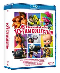 Dreamworks - 10 Film Collection [Blu-ray] - £20.33 delivered (UK Mainland) @ Amazon Italy