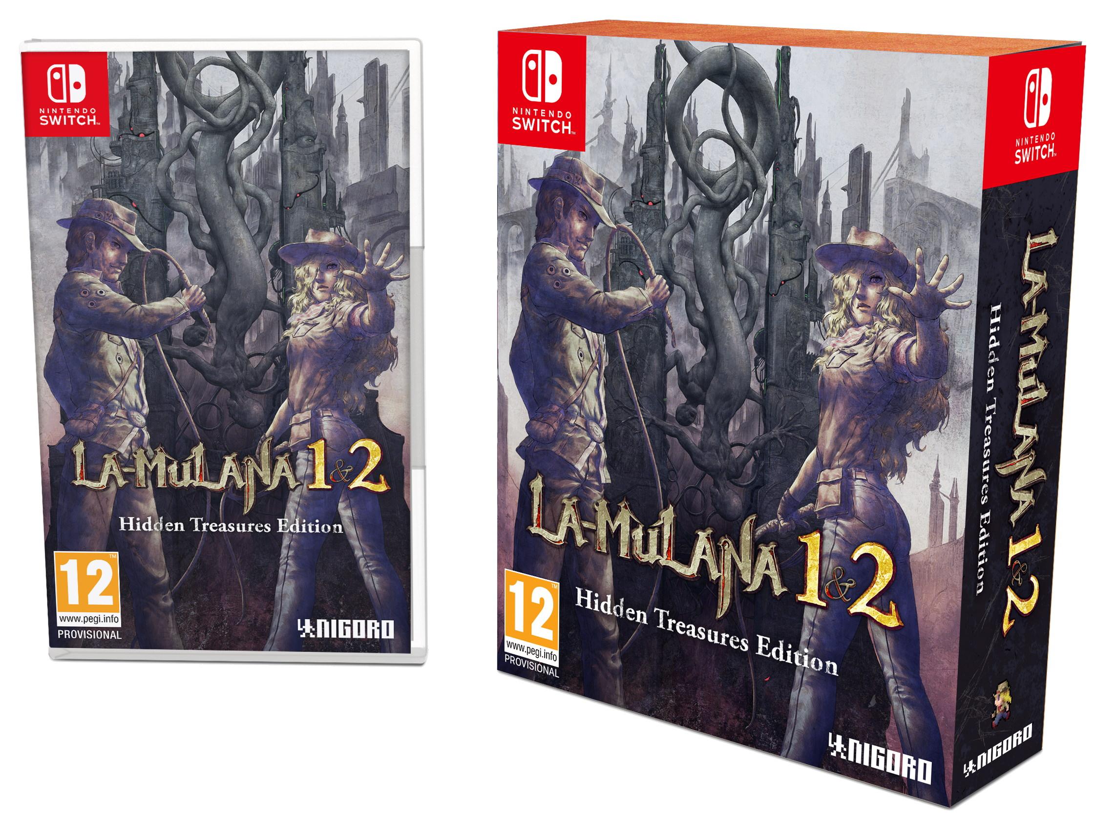 La-Mulana 1 & 2 (Hidden Treasures Special Edition) - Nintendo Switch - Physical / US Import - Coolshop £33.95