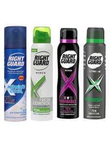 Various Right Guard products 6 pack £6 (£4.49 p&p non prime) 15% voucher and 5% s&s £4.80 @ Amazon