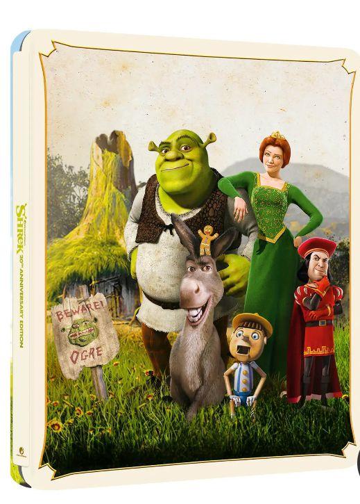 Shrek - Zavvi Exclusive 20th Anniversary 4K Ultra HD Steelbook (Includes Blu-ray) £27.98 delivered at Zavvi