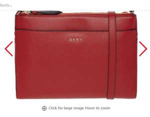 DKNY Red Cross Body Bag £40 +£3.99 delivery or £1.99 click and collect @ TK Maxx