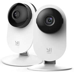 Yi 1080p Security Camera Twin Pack with Night Vision and Motion Detection £34.39 Sold by Seeverything UK and Fulfilled by Amazon