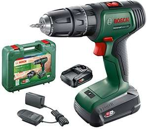 Bosch Cordless Hammer Drill UniversalImpact 18 V (2 batteries, 18 Volt System, in carrying case) - £79.11 @ Amazon