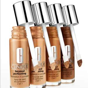 Free 10-Day Clinique Beyond Perfecting Foundation/Concealer Sample @ Clinique