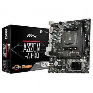 CCL 4.0GHz AMD Quad Core Ryzen 3 3200G, MSI A320M-A PRO Motherboard Bundle £139.64 from ebay/ cclcomputers