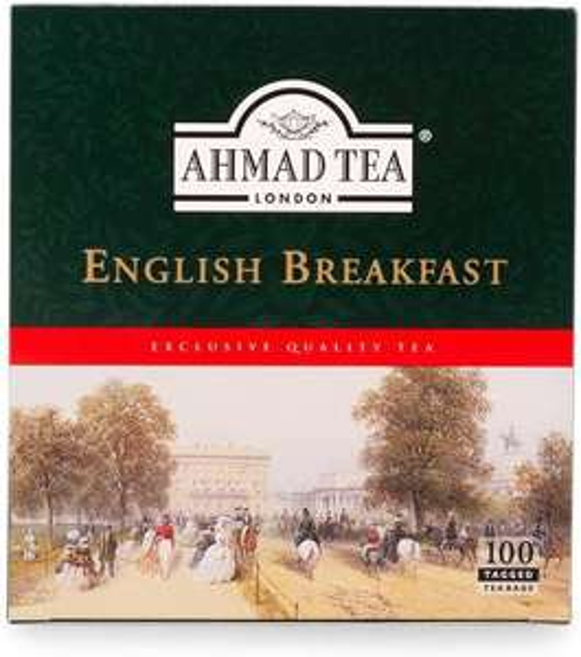 Ahmad Tea English Breakfast Tea - 100 Teabags, 200g £2.16 @ Amazon (£4.49 p&p non prime)