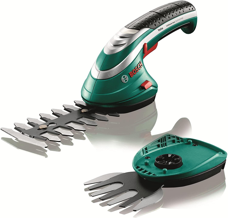 Bosch 600833172 Cordless Edging Shear Set Isio 3.6 V, Blade Length 12 cm, Tooth Spacing 8 mm In Cardboard Box £39.37 Amazon
