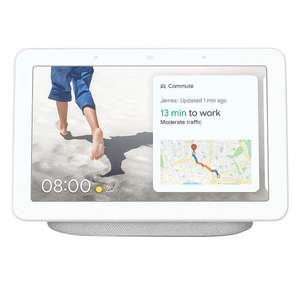 Google Nest Home Hub Voice Assistant with Screen Chalk + FREE Google Nest Mini Voice Assistant £59.99 at Screwfix