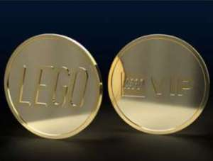 Lego VIP Collectable Coin - fifth series - 1150 VIP Points @ Lego.com